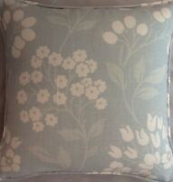 A 16 Inch Cushion Cover In Laura Ashley Holkham Duck Egg Fabric