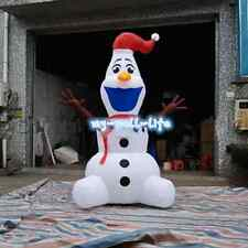 Large Airblown Outdoor Christmas Inflatables Olaf Inflatable Snowman 6M m