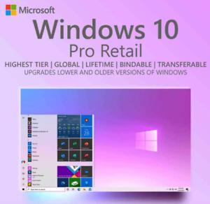 ✅Windows10 c✅d Professional WIN 10 PRO 32/64 Bit Original License Key ✅