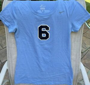 Juniors Nike Dri-Fit Short Sleeve Blue Numbered Jersey X-Small EUC