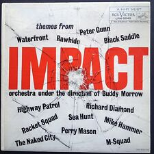 Buddy Morrow IMPACT TV soundtracks compil LP 1959 Rawhide Perry Mason Naked City