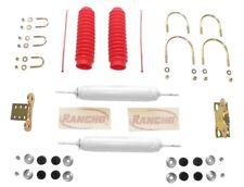 Steering Stabilizer/Damper Kit-Dual Steering Damper Kit Front RANCHO RS98501