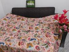 Handmade Indian Cotton Duvet Cover Twin/Queen Size Floral Mukut Print Bedding