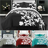 Chic Home Calla Lily 7 Piece Duvet Cover Set Reversible Floral Bed in a Bag