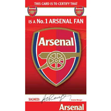 Arsenal Certficate Number 1 Fan Birthday Card AS045