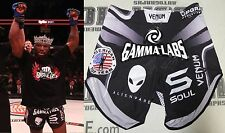 King Mo Signed Bellator 175 Fight Worn Used Shorts Trunks BAS COA v Rampage MMA