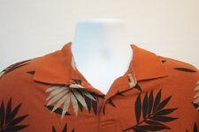 Ocean Pacific Midweight Polo Shirt, Orange, Men's Large 7069