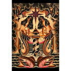 Lost at Sea by Brother Greg American Traditional Tattoo Art Print for Framing