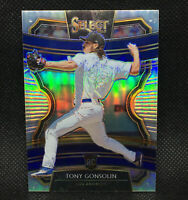 2020 Select Silver Prizm Tony Gonsolin RC #57 - Los Angeles Dodgers
