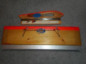 Norwegian Normark Rudi Hand Held Fishing Side Planer Set * PRICE REDUCED