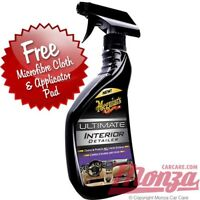 NEW!! Meguiars ULTIMATE Interior Car Dashboard Detailer / Cleaner + FREE APP KIT