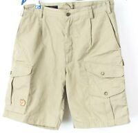 FJALLRAVEN Men G-1000 Cargo Pockets Hiking Shorts Size 40 NZ505
