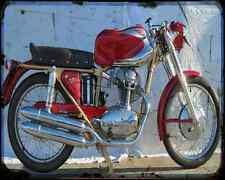 Ducati 175 Sport 1 A4 Metal Sign Motorbike Vintage Aged