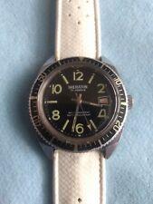Vintage Sheraton 17 Jewel Divers Style Mechanical Watch Lorsa P75 French MVMT