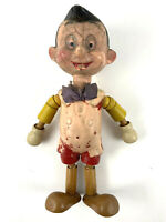 Vintage Antique Pinocchio Wooden Doll Ideal Novelty And Toy Company Composition