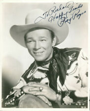 Roy Rogers (Vintage, Inscribed) signed photo COA