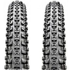 "1 PAIR  Maxxis Crossmark MTB Tyres. 29 x 2.10"" Black Mountain Bike Tires"