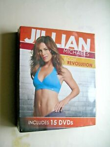 JULIAN MICHAELS BODY REVOLUTION 15 DVD SET BRAND NEW SEALED