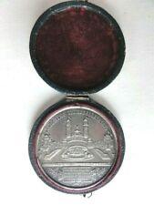 Médailles uniface en étain Exposition Universelle de 1878, Palais du Trocadéro