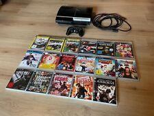 Sony PlayStation 3 PS3 80GB Piano Black Konsole (CECHL04 - PAL)