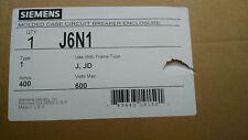 Siemens J6N1 & HJXD63B400 400amp 600v Circuit breaker disconnect New! 65k aic