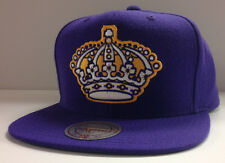 Los Angeles Kings LA NHL Mitchell & Ness Snapback Hat Cap - Big Logo Vintage