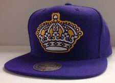 Los Angeles Kings LA NHL Mitchell & Ness Snapback Hat Cap - Big Logo Vintage