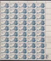 USA Briefmarken Bogen 50x 20 Cent 1983 Brooklyn Bridge #30699-S