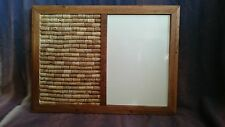Cork & magnetic / Whiteboard Notice Board with Pine Frame