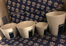 Lavazza Italian Coffee Complete Barista Cups Expresso Cappuccino Mug Demitasse