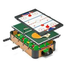 "20"" 3 in 1 Top Games Table Football Foosball Air Hockey Table Tennis Game Toy"