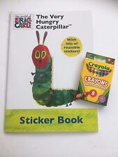 Crayola Crayons & The Very Hungry Caterpillar Sticker Colouring Book