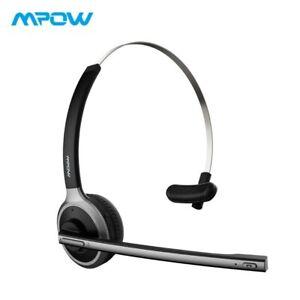 Mpow M5 Bluetooth 4.1 Casque Sans Fil Sur-Tête Casque Antibruit Avec Crystal