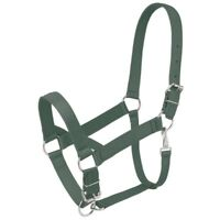 Tough-1 Standard Nylon Draft Halter with Adjustable Nose and Crown