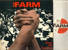 "THE FARM steps of emotion (original uk & lyric insert) 12"" MINI LP EX-/VG PRA T1"