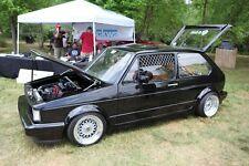 VW MK1 MK2 TDI Jetta Golf Rabbit Caddy Fox GTI Cabriolet Beetle Window Accent x2