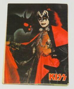 KISS MARATHON GRAPHICS 8x10  PHOTO BOOKLET AUCOIN 1978 COMPLETE