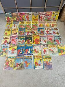 Harvey Comics Big Lot of 45 Hot Stuff Sizzlers Devil Kids Silver & Bronze Age