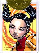 Marvel Dangerous Divas Renae De Liz sketch card