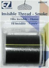 Invisible Nylon Thread .004mm 500yds Smoke, you will receiv 3 pack of 500 yards