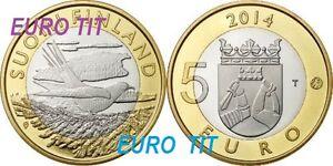 5   EURO   FINLANDE  COMMEMORATIVE     2014      OISEAUX    N° 1      disponible