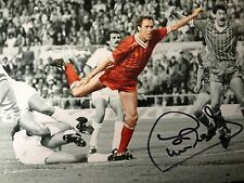 PHIL NEAL - LIVERPOOL LEGEND - EXCELLENT SIGNED COLOURISED PHOTO