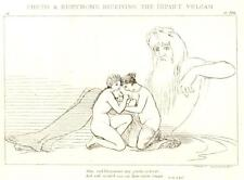 Flaxman's Illiad Drawing -1833- RECEIVING INFANT VULCAN