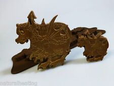 4+1 DRAGONS DRAGON TRAIN TRAINING Chocolate Silicone Mould Candy Cake Mold