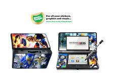 SONIC THE HEDGEHOG Vinile Autoadesivo per Nintendo 3DS