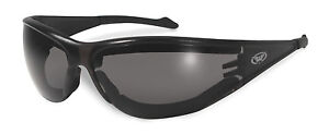 New Anti-Fog Padded Motorcycle Sunglasses/Biker Glasses + Free Pouch & Postage