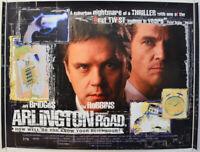 ARLINGTON ROAD (1999) Original Quad Movie Poster - Jeff Bridges, Tim Robbins