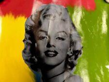 Marilyn Monroe by Steve Kaufman Painting 24x24 12/25 TP SAK