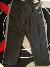 Slazenger Mens Size 6XL Tracksuit Bottom Track Pant Leisure Wear Charcoal