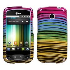For LG Thrive Hard Protector Case Snap on Phone Cover Breeze Midnight